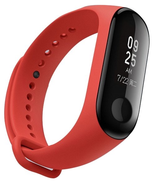 Xiaomi Mi Band 3 (Красный)