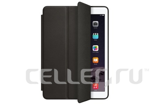 Чехол книжка-подставка Smart Case для iPad Pro 12.9 2017 (Черный)