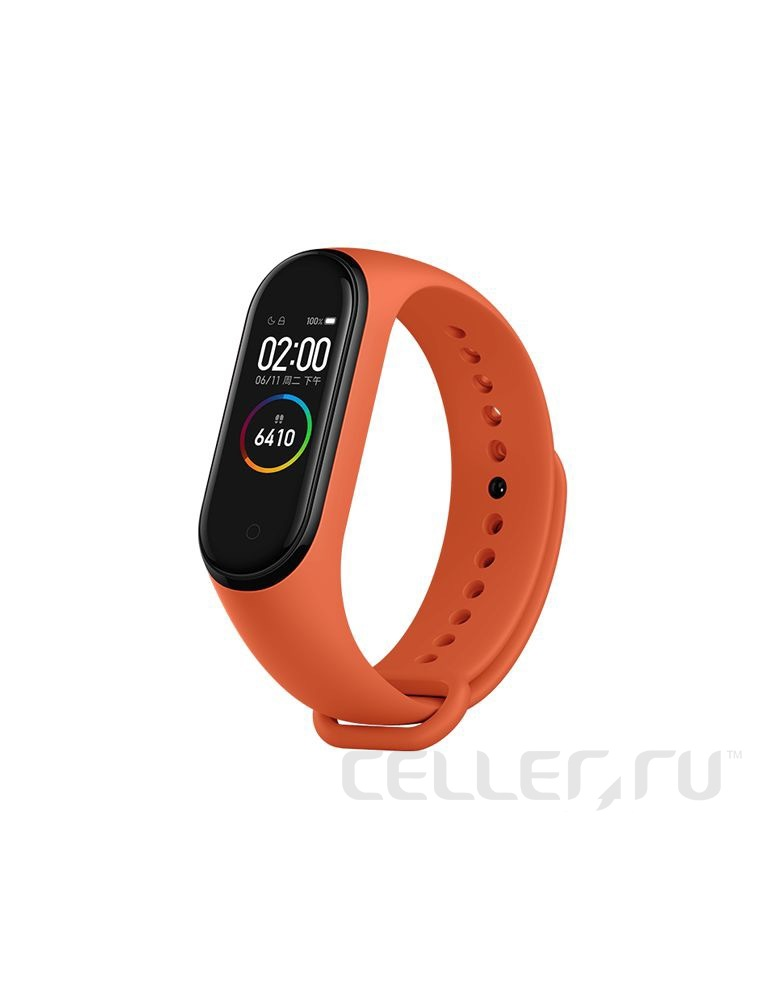 Браслет Xiaomi Mi Band 4 Eu Heat orange