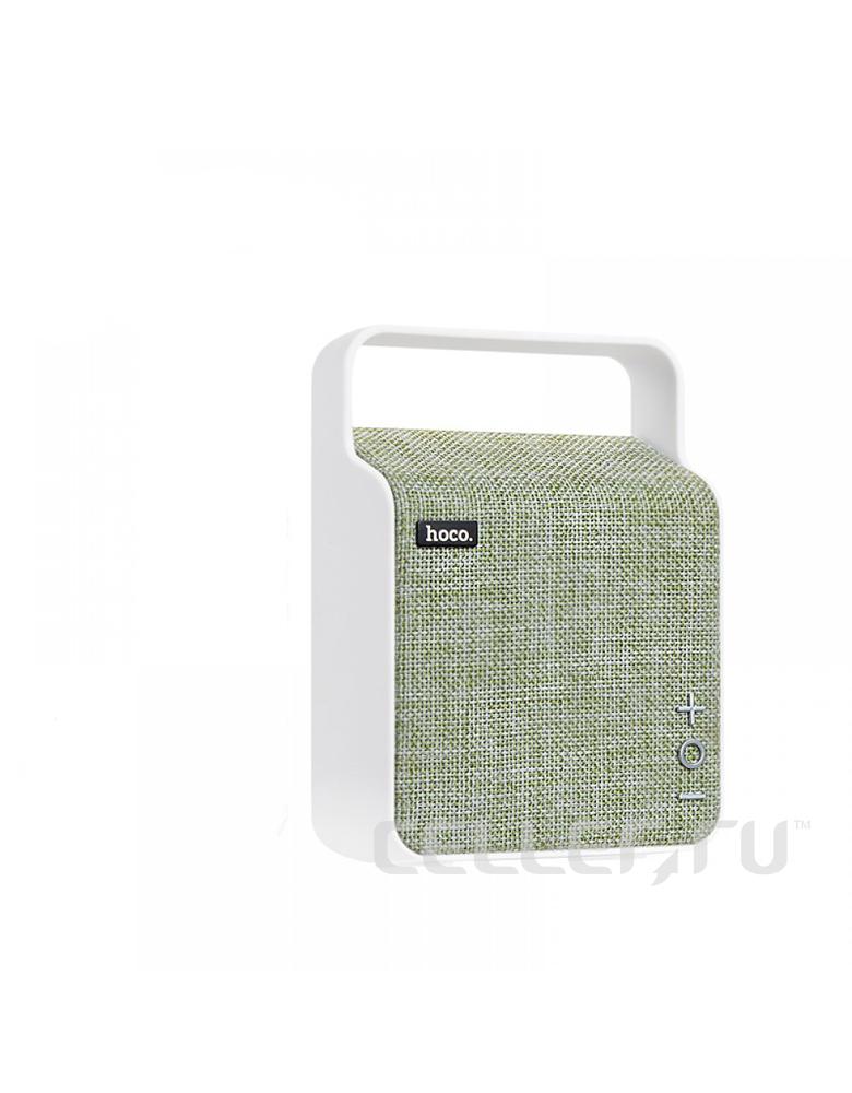 Портативная bluetooth колонка HOCO(original) BS6 NuoBu desktop Цвет: Зелёный