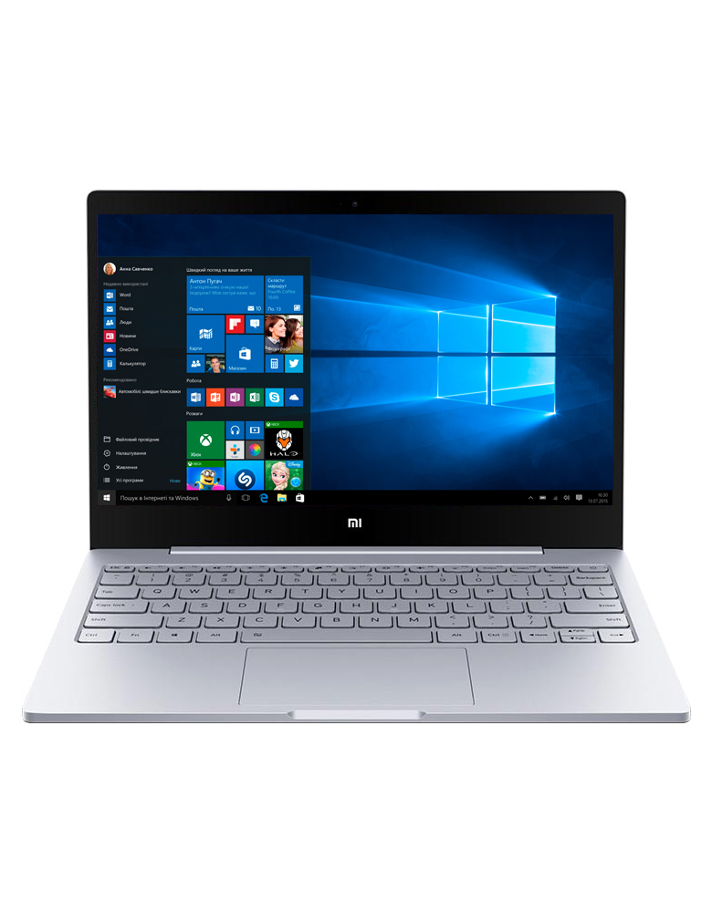 "Ноутбук Xiaomi Mi Notebook Air 12.5"" (Intel Core i5 7Y54 1200 MHz/12.5""/1920x1080/4GB/256GB SSD/Intel HD Graphics 615/Wi-Fi/Bluetooth/Windows 10 Home) Серебристый"