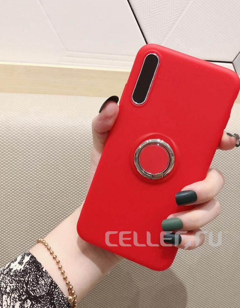 Чехол с кольцом Samsung Galaxy A30s / A50 / A50s в ассортименте