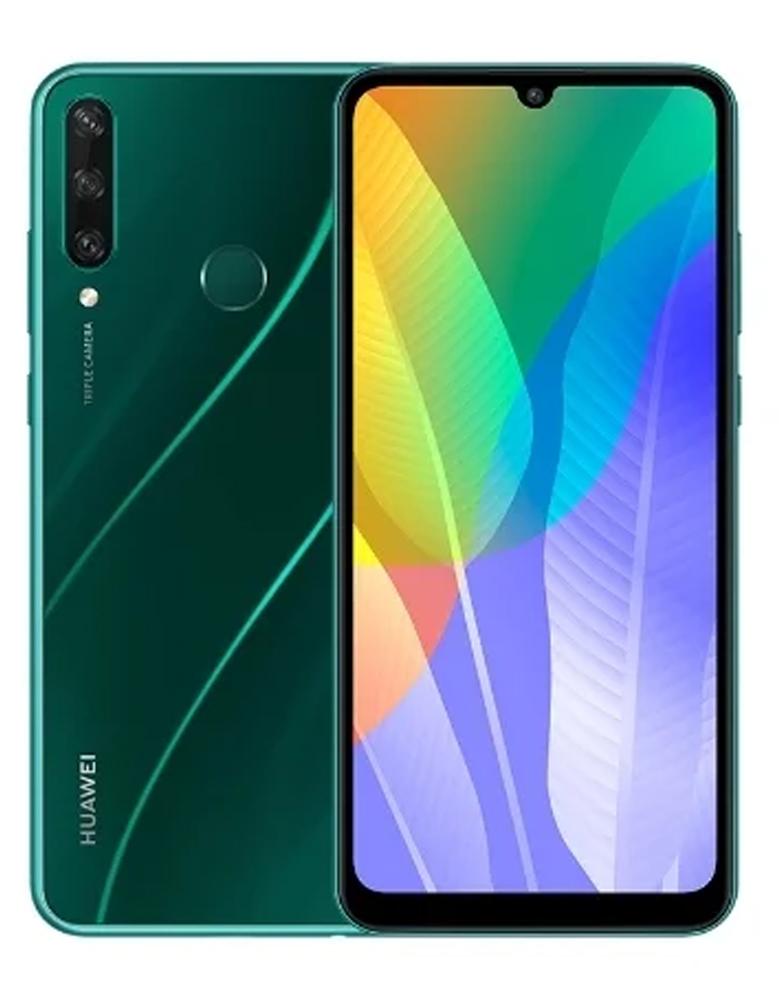 Смартфон HUAWEI Y6p 3/64GB (NFC) зеленый