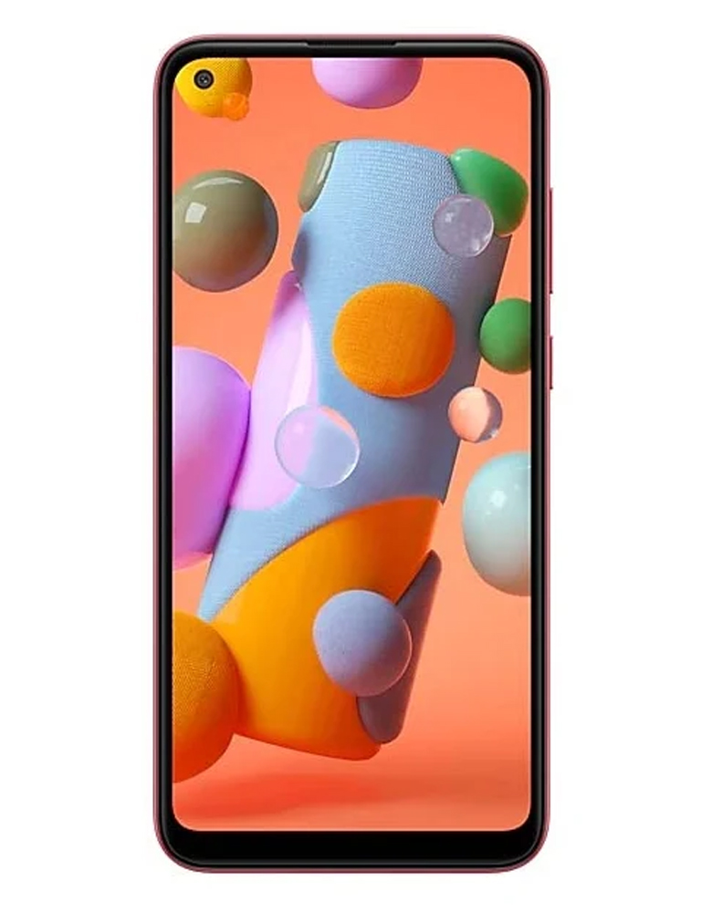 Смартфон Samsung Galaxy A11 красный