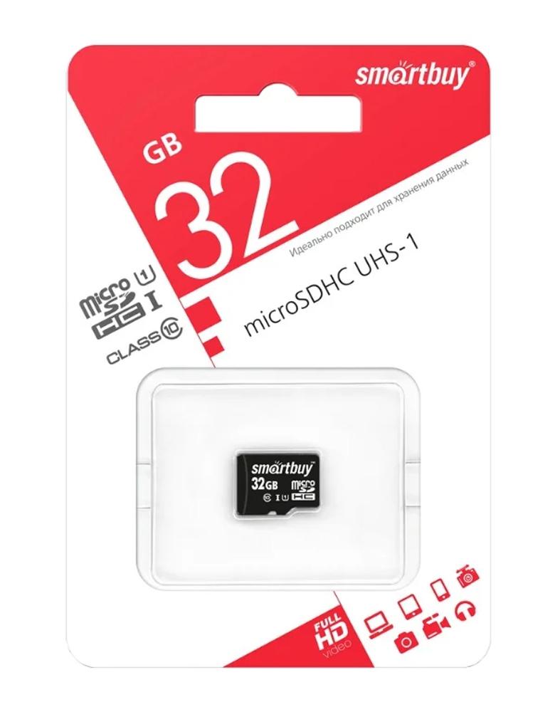 Карта памяти SmartBuy microSDHC Class 10 UHS-I U1 32GB