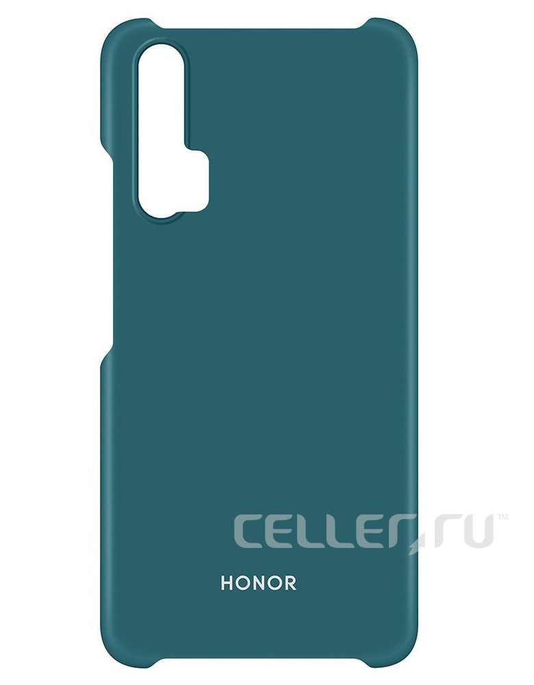Чехол-накладка для Honor 20 PC Case зеленый