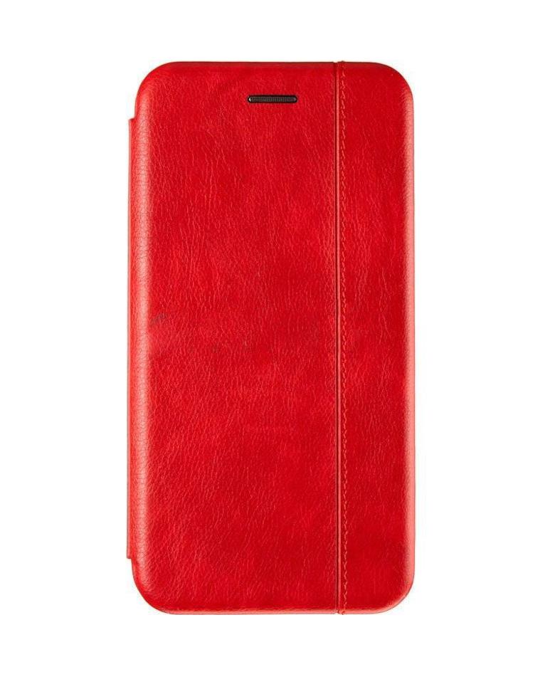 Чехол-книжка для Samsung Galaxy A10 красный