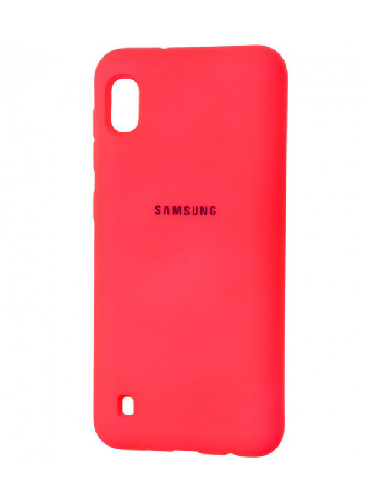 Чехол Silicone Cover для Samsung Galaxy A10 красный