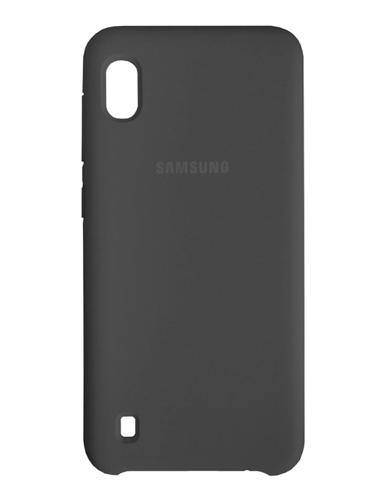 Чехол Silicone Cover для Samsung Galaxy A10 черный