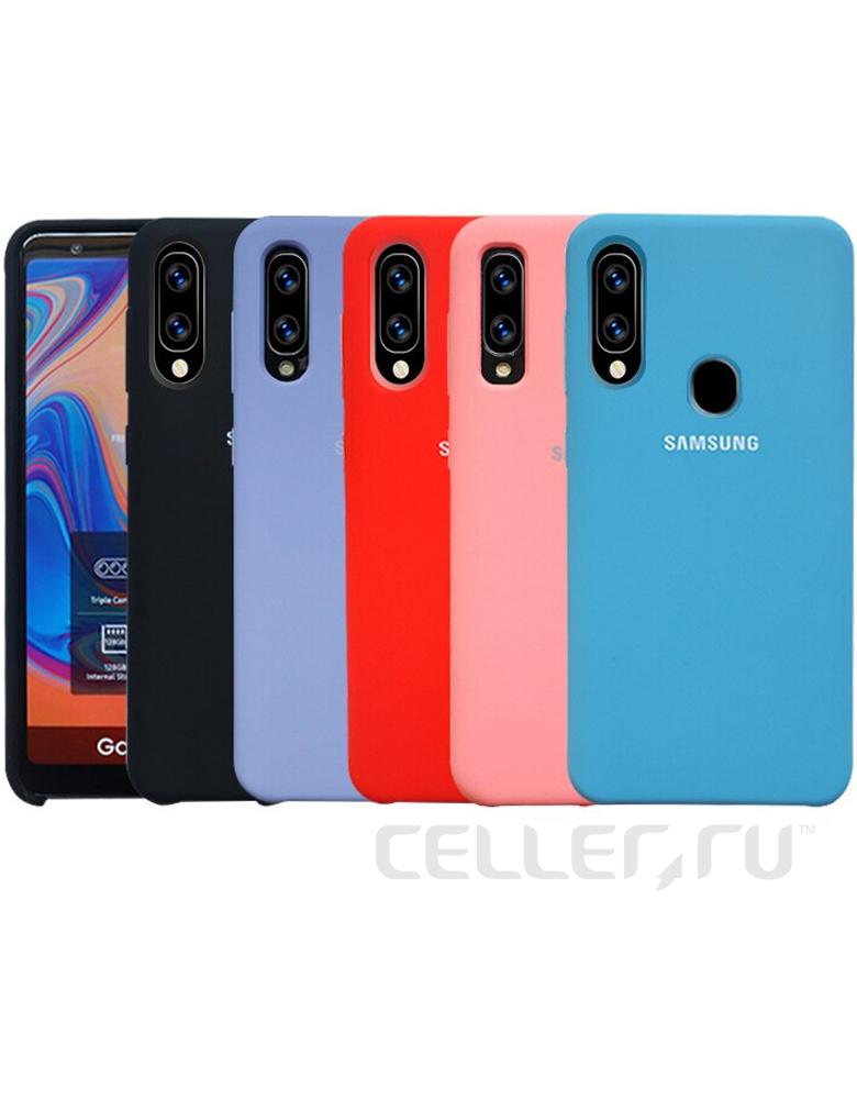 Чехол Silicone Cover Samsung Galaxy A20 / A30 в ассортименте