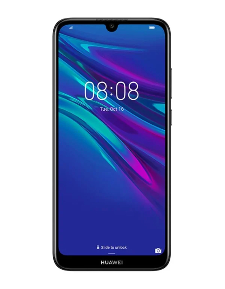 Смартфон HUAWEI Y6 (2019) Полночный черный