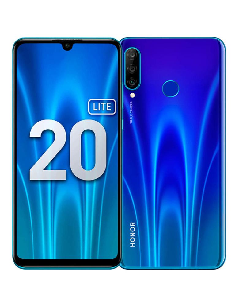 Смартфон Honor 20 Lite 4/128GB (RU) Сияющий ультрамарин