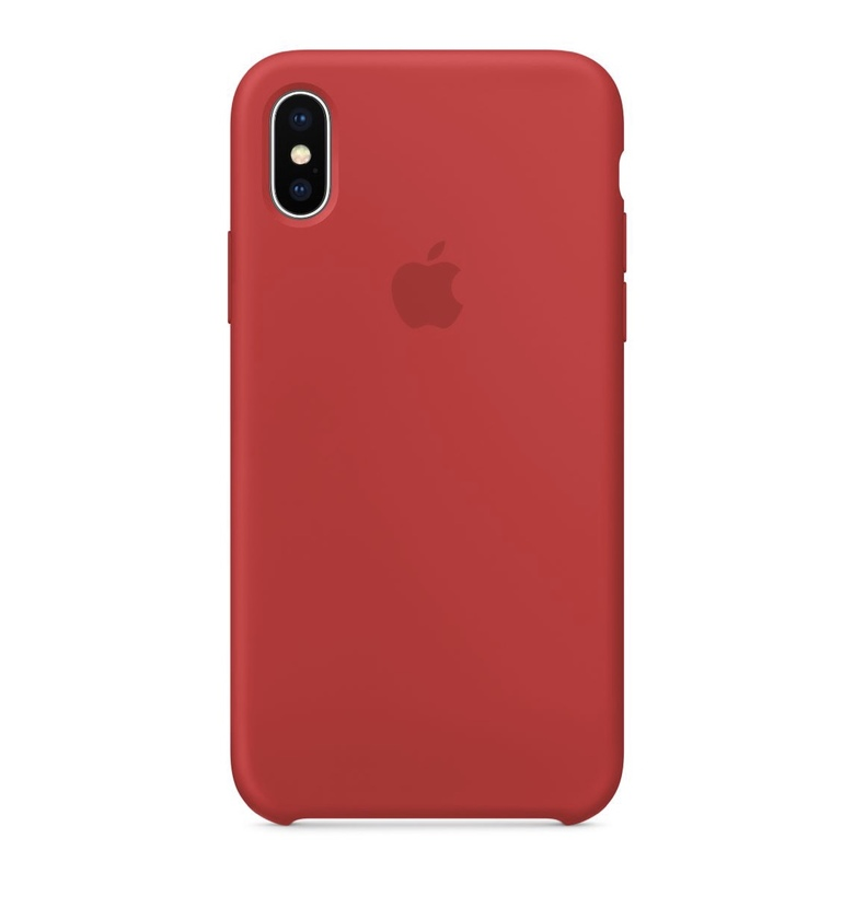 iPhone 7 Plus Silicone Case -(PRODUCT)RED