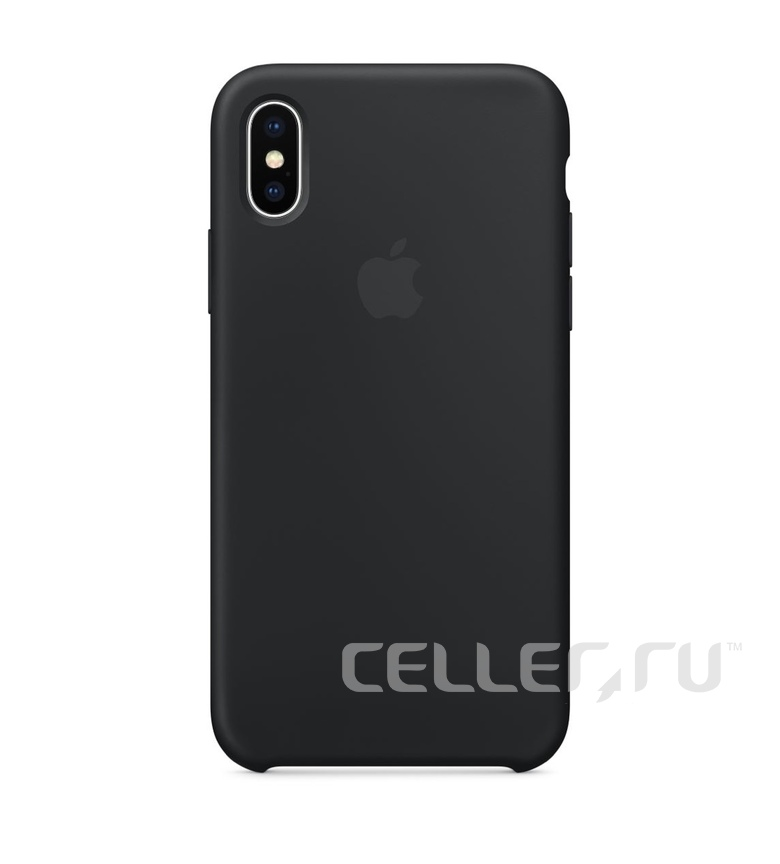 iPhone 6 Silicone Case - Black