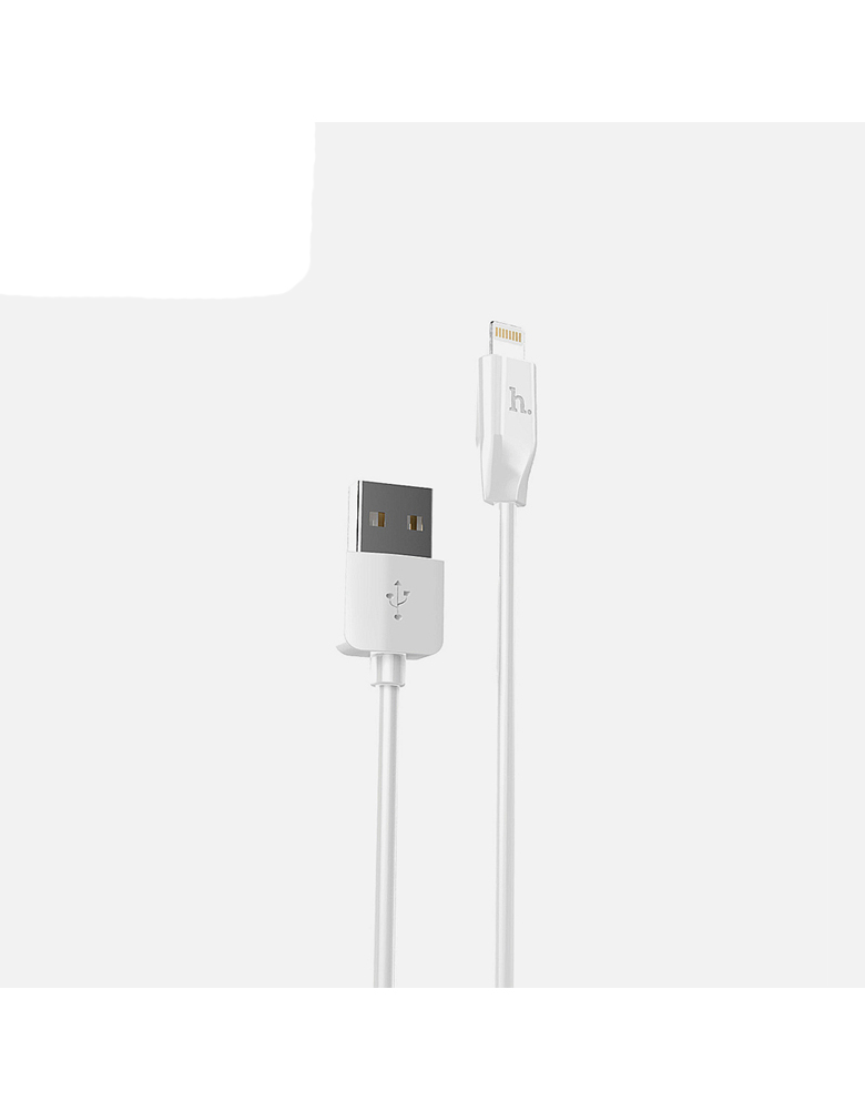USB кабель Hoco (Original) X1 для Apple 1м Цвет: Белый