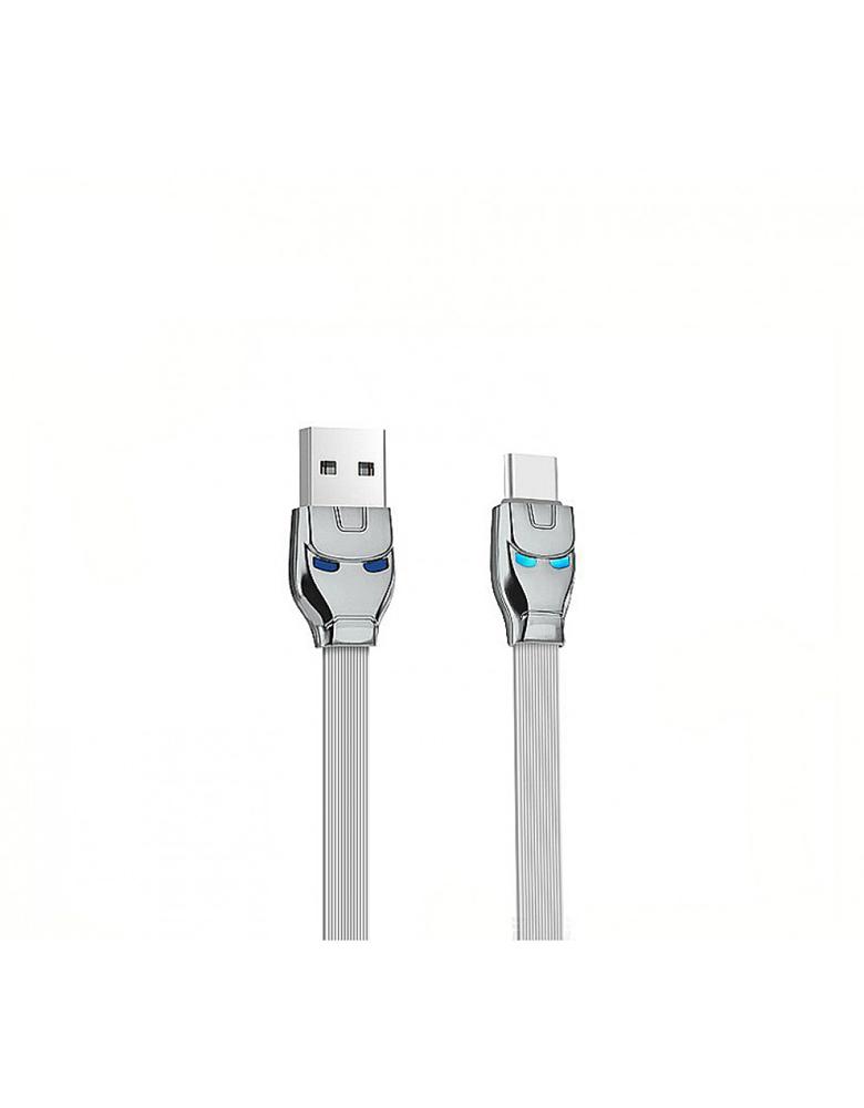 USB кабель HOCO (Original ) U14 Type-C 1,2 м Цвет: Серый