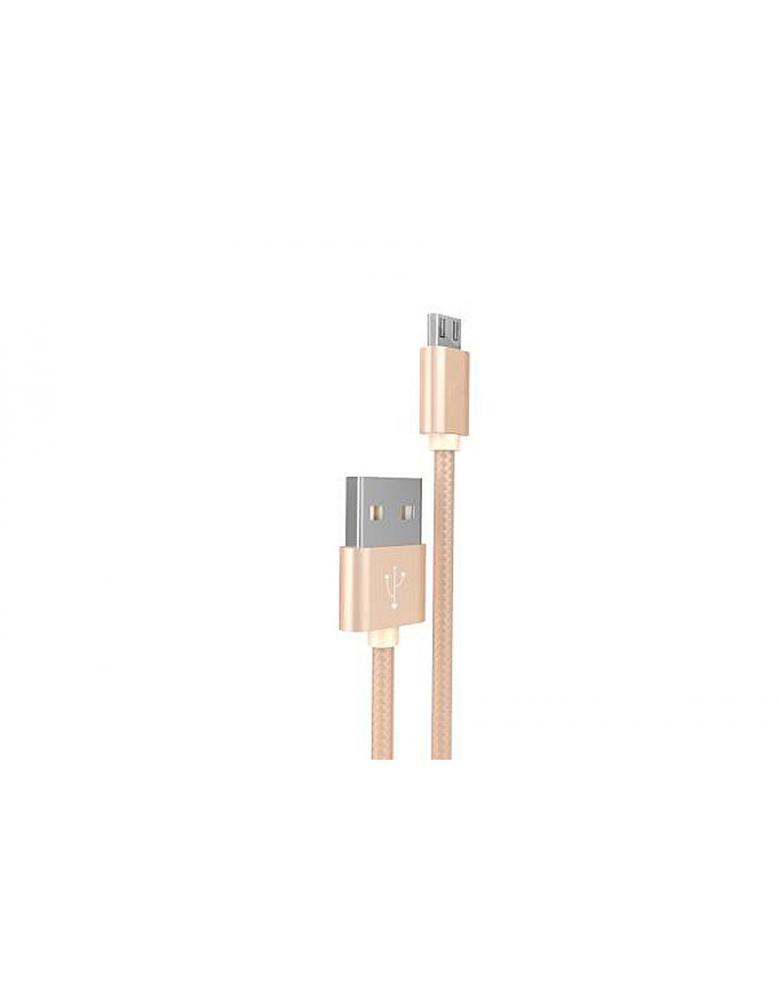 USB кабель HOCO (Original) X2 micro 1м Цвет: Золотой