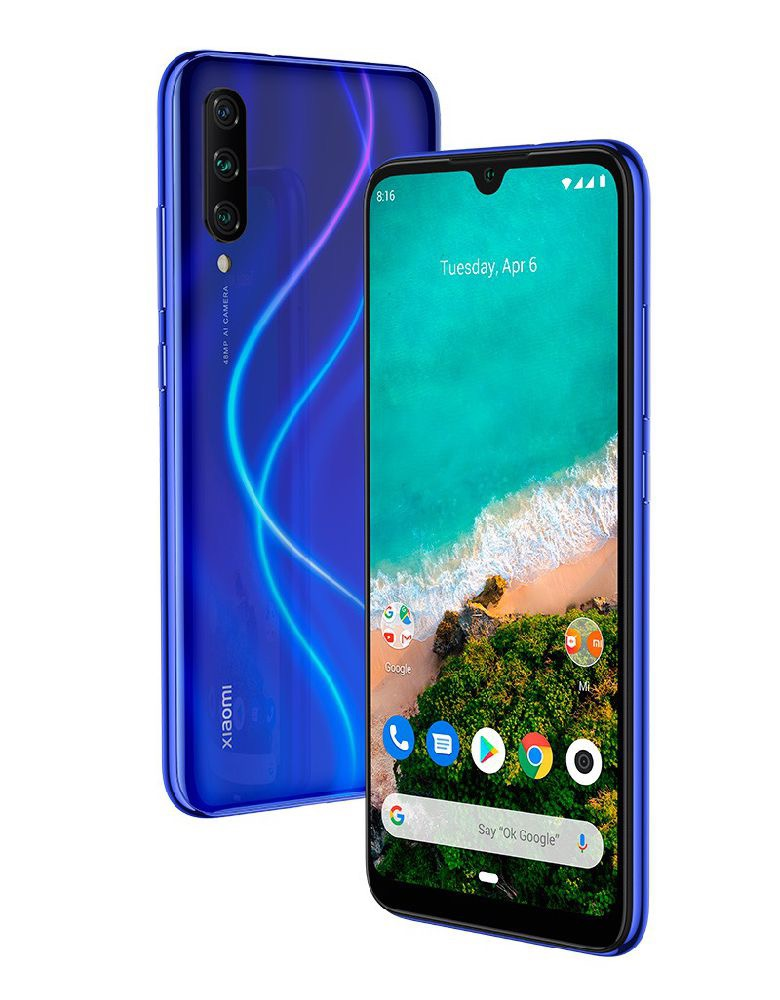 Смартфон Xiaomi Mi A3 4/128GB Android One Blue