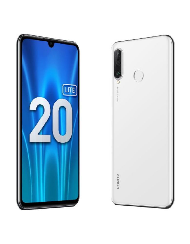 Смартфон Honor 20 Lite 4/128GB (RU) Pearl White