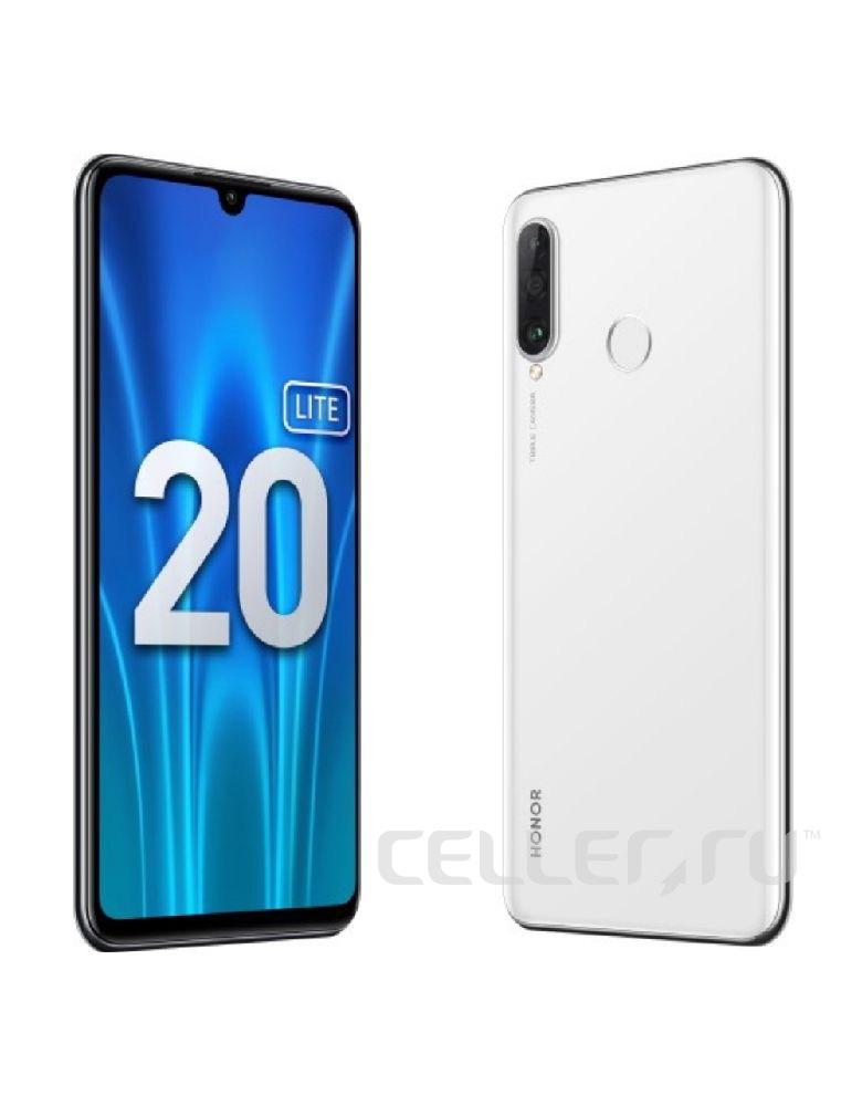Смартфон Honor 20 Lite 4/128GB (RU) Pearl White