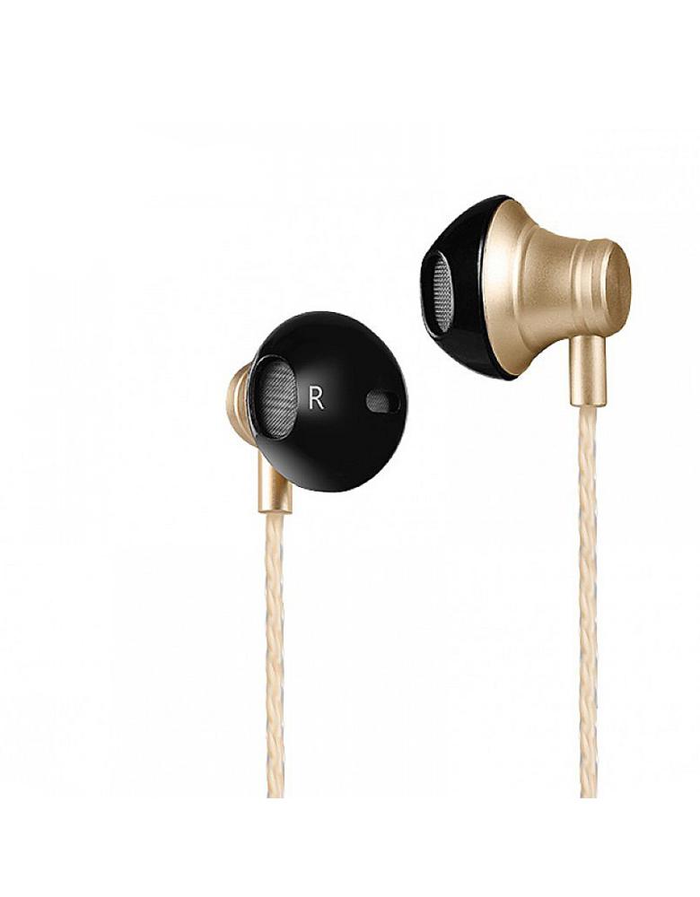 Универсальные наушники с микрофоном HOCO(original)M18 Цвет: Золотой