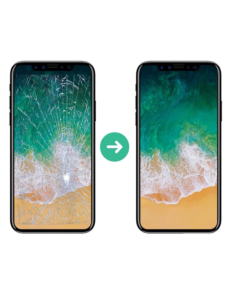 iPhone 5s Замена сенсорного стекла