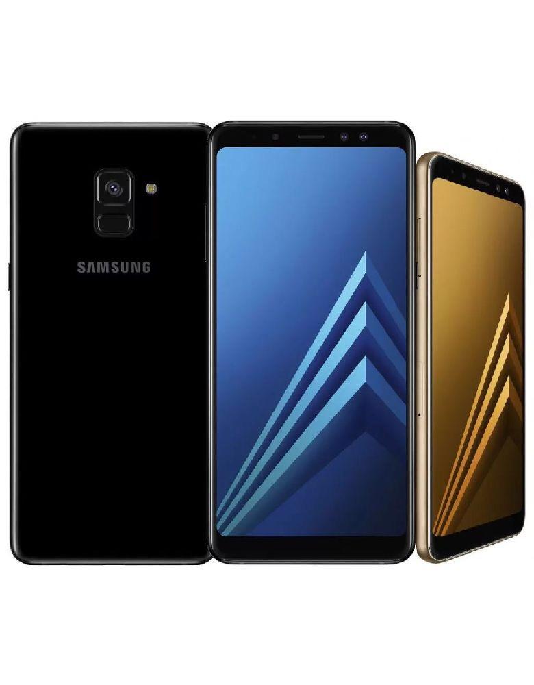 Samsung Galaxy A8(2018)Черный бриллиант
