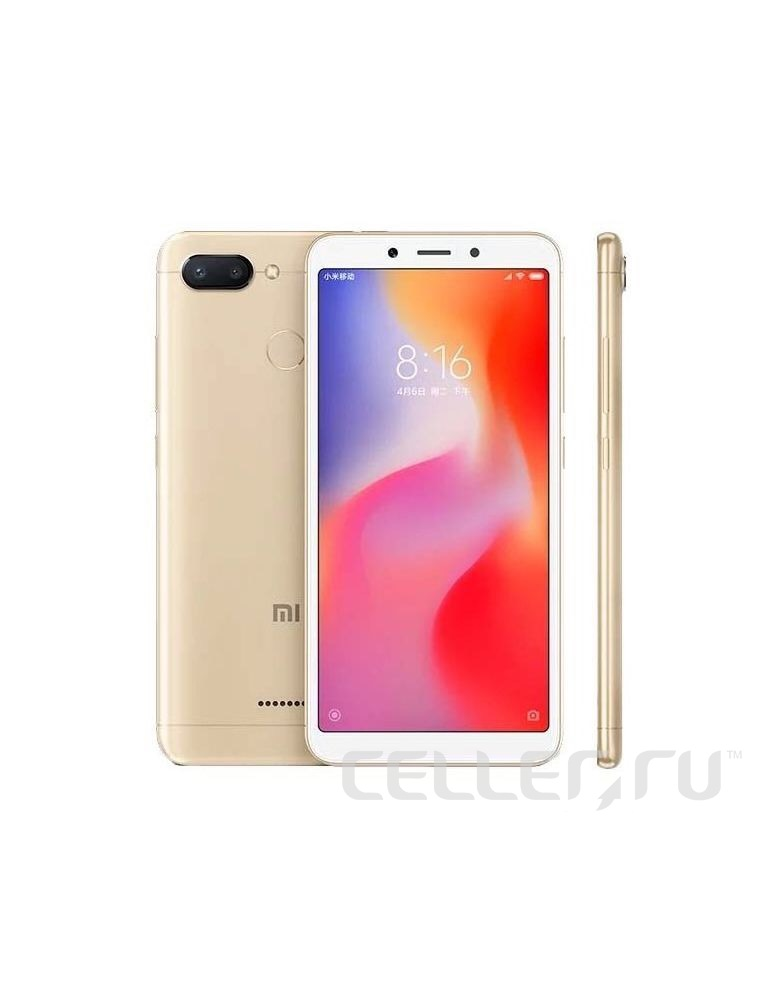 Xiaomi Redmi 6 3/32GB Gold
