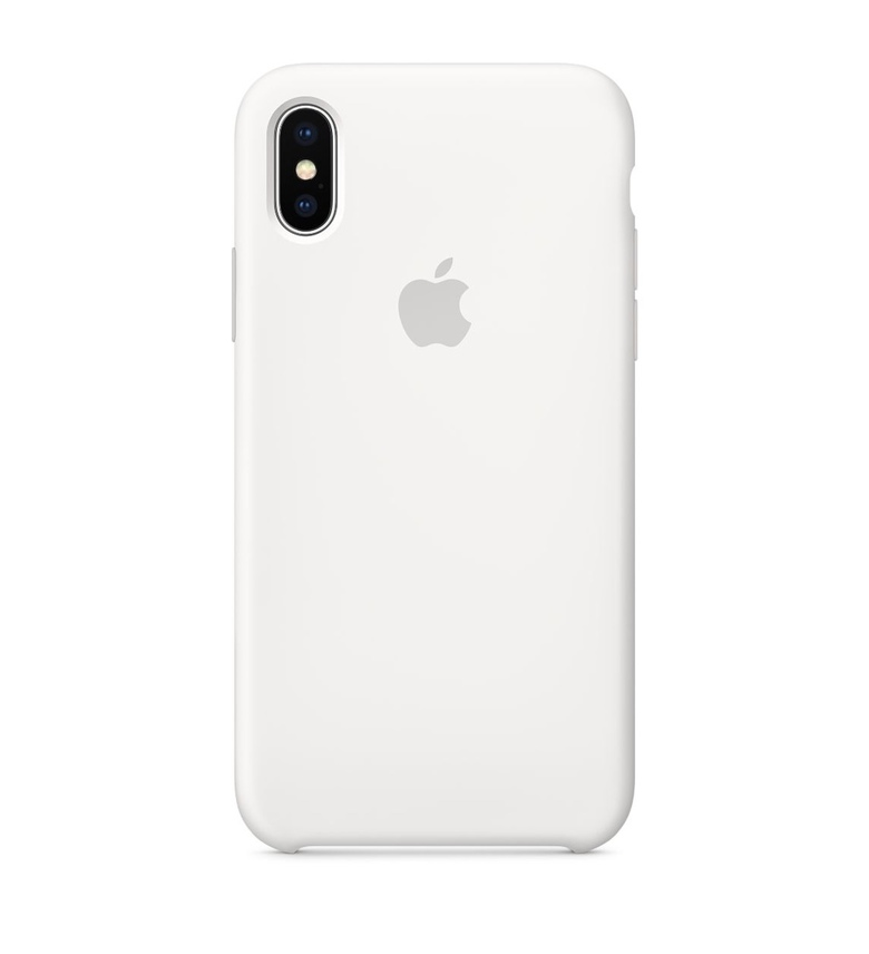 iPhone 8 Plus Silicone Case - White