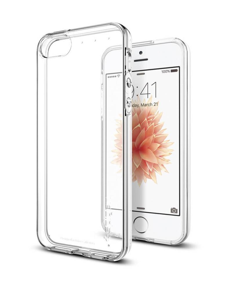 Чехол iPhone 5/5s/Se Прозрачный Силиконовый