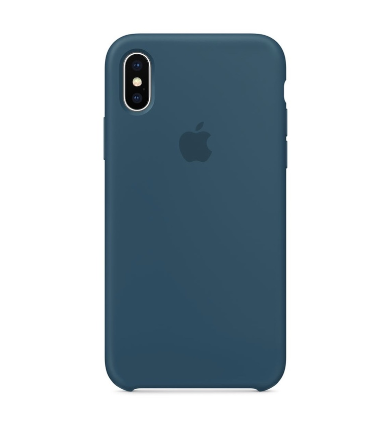 iPhone 6 Plus Silicone Case - Cosmos Blue