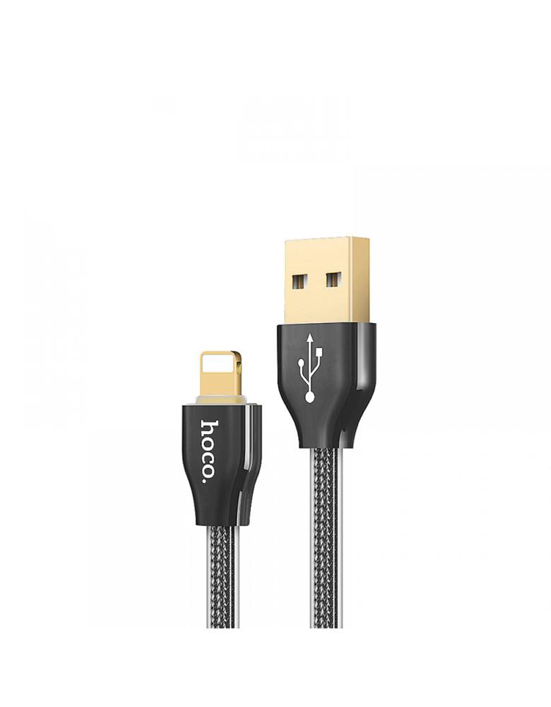 USB кабель HOCO (Original) X7 для Apple 1,2 м Цвет: Чёрный