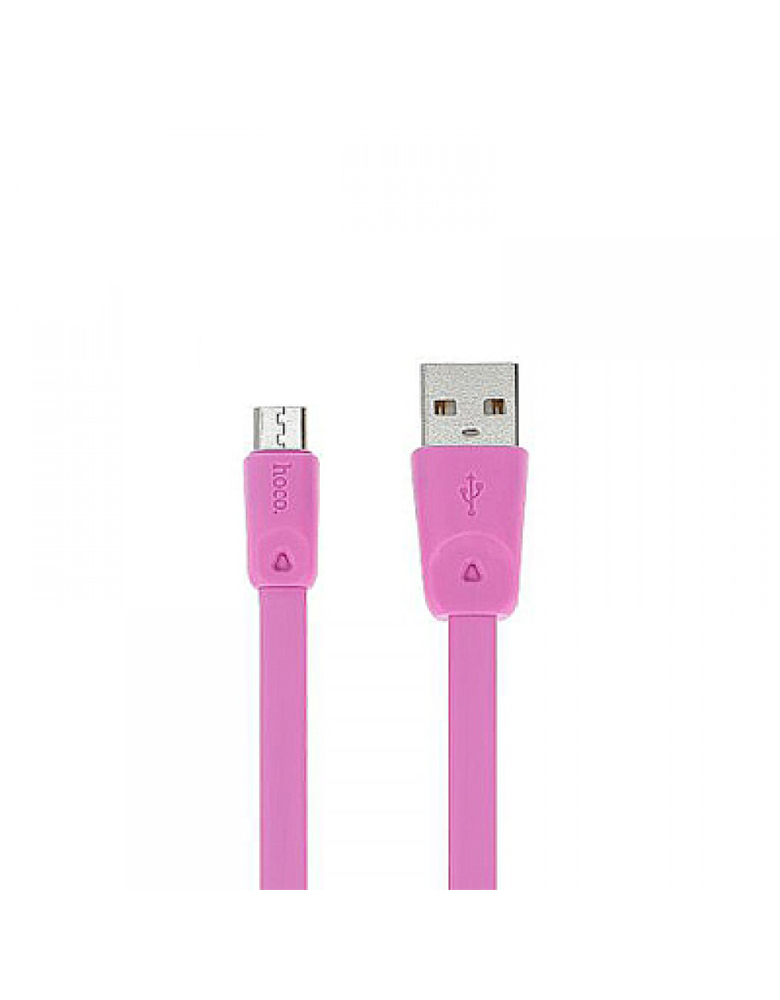 USB кабель HOCO (Original) X9 Micro 2 метр Цвет: Розовый