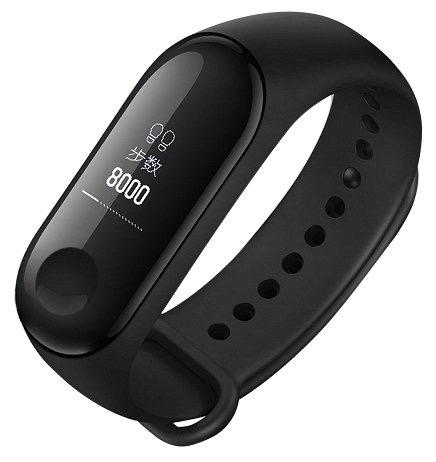 Xiaomi Mi Band 3 (Чёрный)