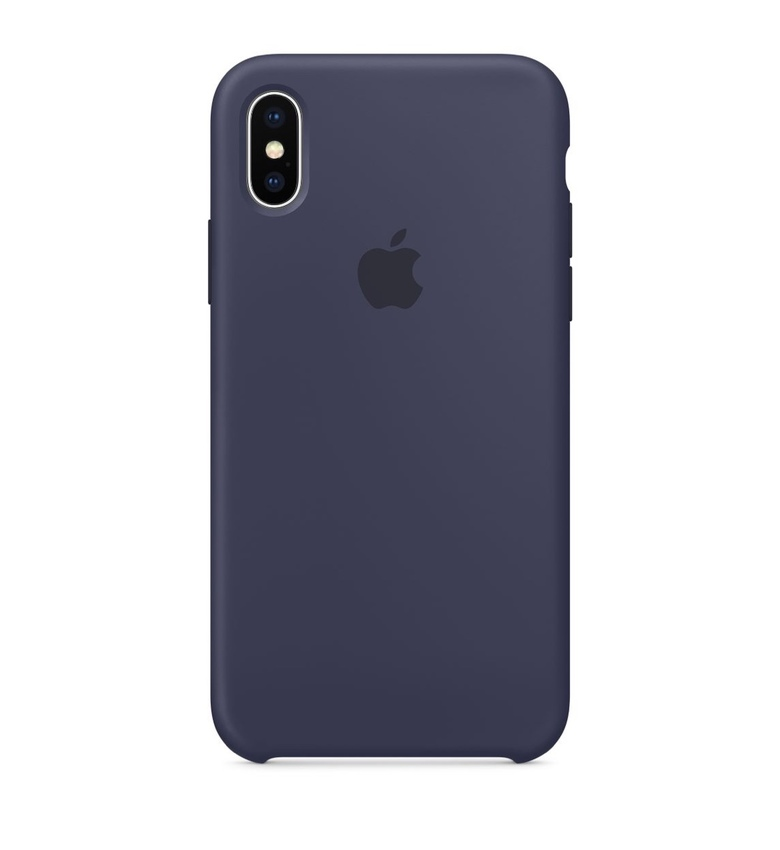 iPhone 8 Plus Silicone Case - Midnight Blue