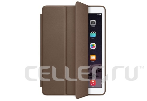 Чехол книжка-подставка Smart Case для iPad Pro 9.7 (Темно-коричневый)