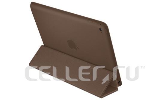Чехол книжка-подставка Smart Case для iPad Air (Темно-коричневый)