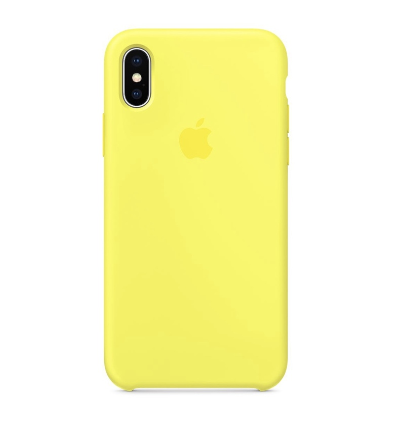 iPhone SE Silicone Case - Flash
