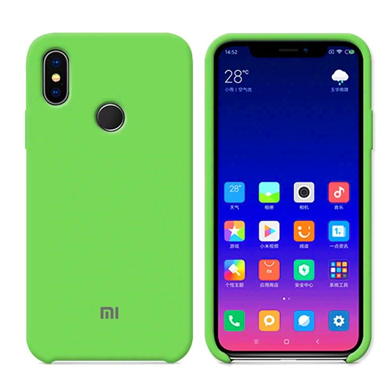 Silicone Cover для Xiaomi Redmi Note 5 (зеленый)