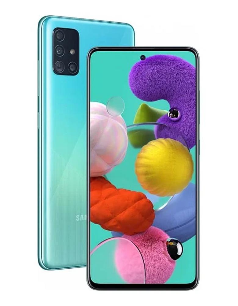 Смартфон Samsung Galaxy A51 128GB Синий