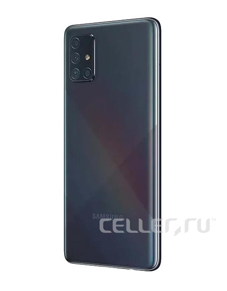 Смартфон Samsung Galaxy A71 6/128GB черный