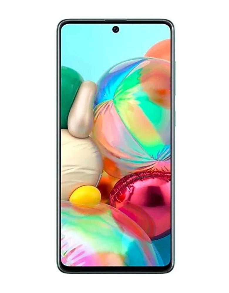 Смартфон Samsung Galaxy A71 6/128GB голубой