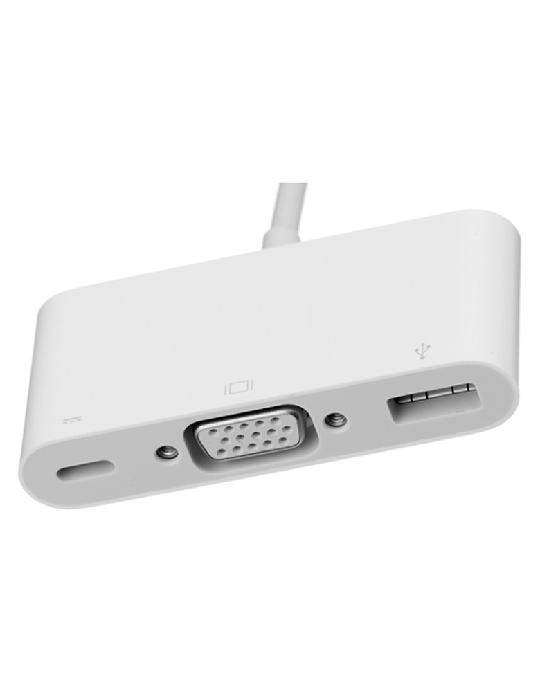 Переходник Apple USB Type-C - USB Type-C/USB/VGA (MJ1L2ZM/A)
