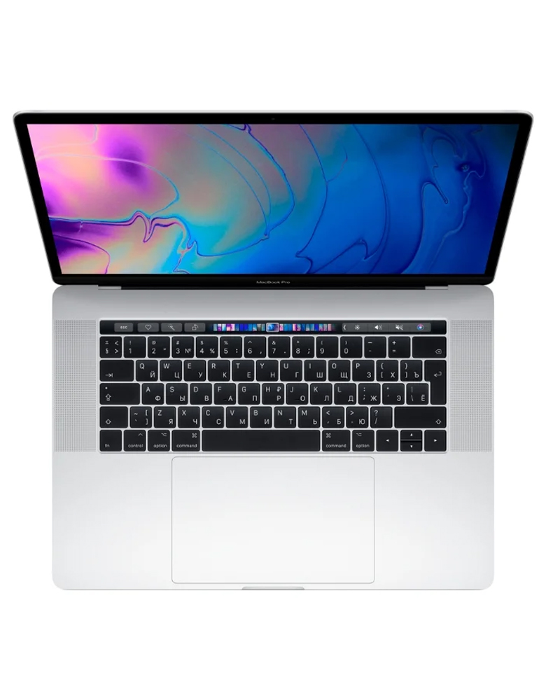 "Ноутбук Apple MacBook Pro 15 with Retina display Mid 2019 (Intel Core i9 2300 MHz/15.4""/2880x1800/16GB/512GB SSD/DVD нет/AMD Radeon Pro 560X 4GB/Wi-Fi/Bluetooth/macOS) Silver"