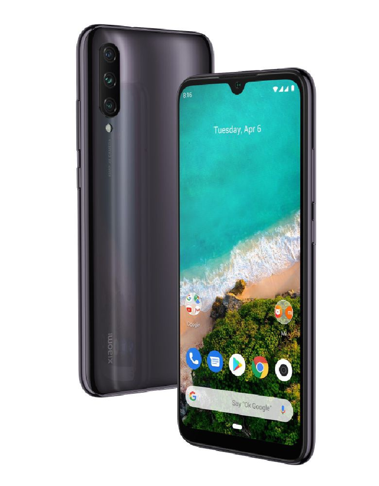 Смартфон Xiaomi Mi A3 4/128GB Android One Black