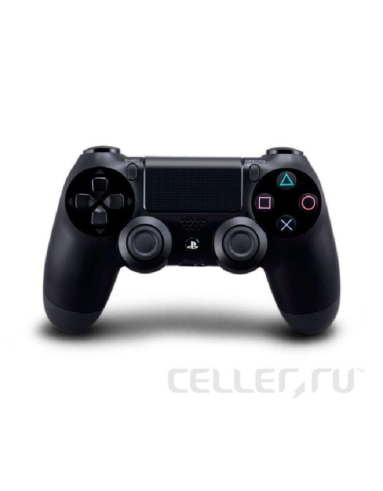 PlayStation DualShock 4 Black Геймпад беспроводной(Аналог)