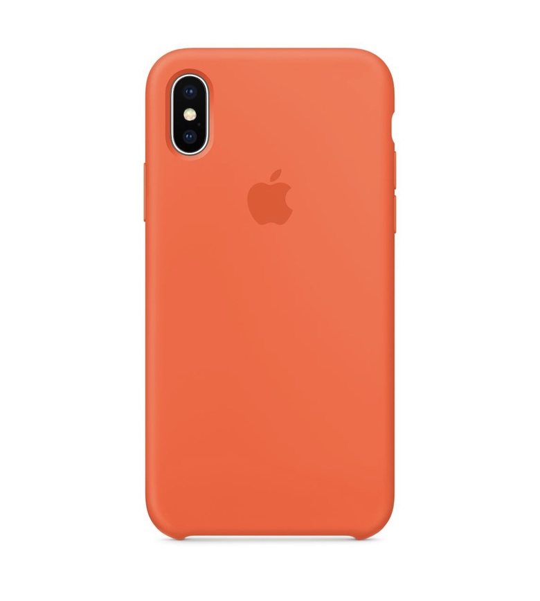 iPhone 7 Plus Silicone Case - Spicy Orange