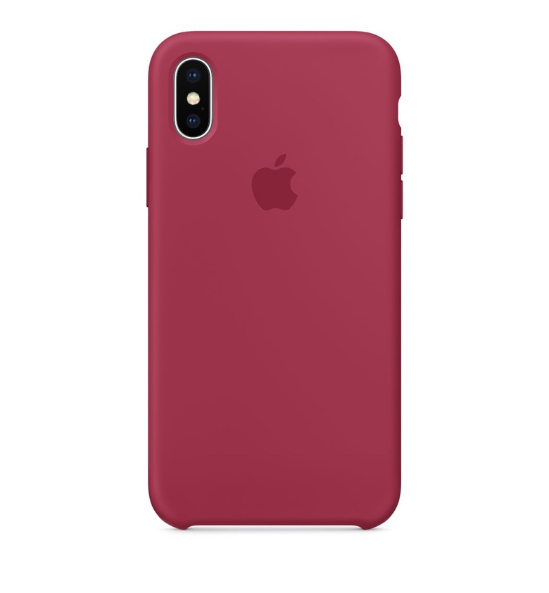 iPhone 8 Plus Silicone Case - Rose Red