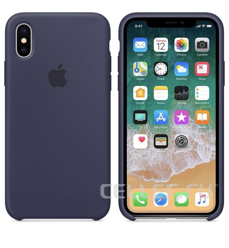 iPhone 6 Plus Silicone Case - Midnight Blue