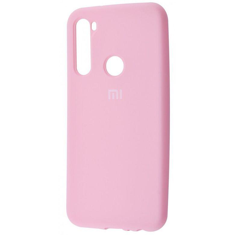 Чехол-бампер Xiaomi Silicone Cover для Xiaomi Redmi Note 7 Light Pink